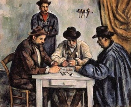 Paul Cezanne- The Card Players