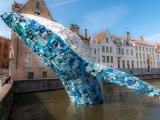 Μια γιγάντια φάλαινα στην Bruges